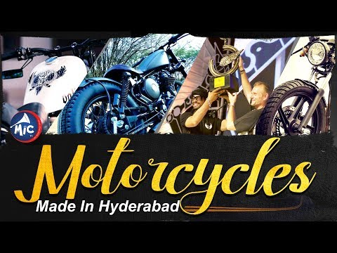 Motorcycle made in Hyderabad - Special Story   MicTv.in