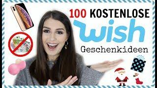 100 ‼️ KOSTENLOSE ‼️Geschenkideen von wish - ihr müsst kein Geld für coole Geschenke ausgeben 😍❤️