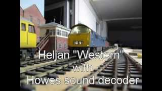 Heljan 7mm Western with Howes sound chip