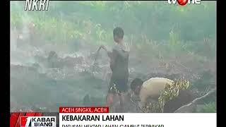Kebakaran Lahan di Aceh