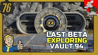 Fallout 76 Final Beta - Mysterious Vault 94