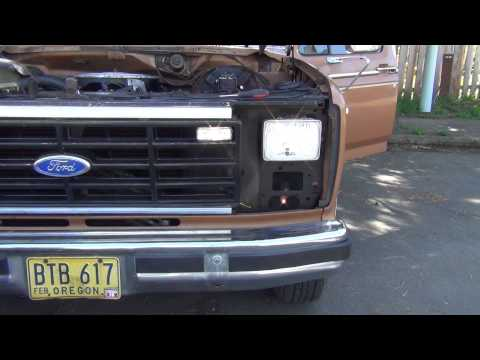 [SCHEMATICS_4UK]  Ford F150 Headlight Upgrade Part 1 of 2 - YouTube | 1986 Ford F 150 Headlight Wiring |  | YouTube