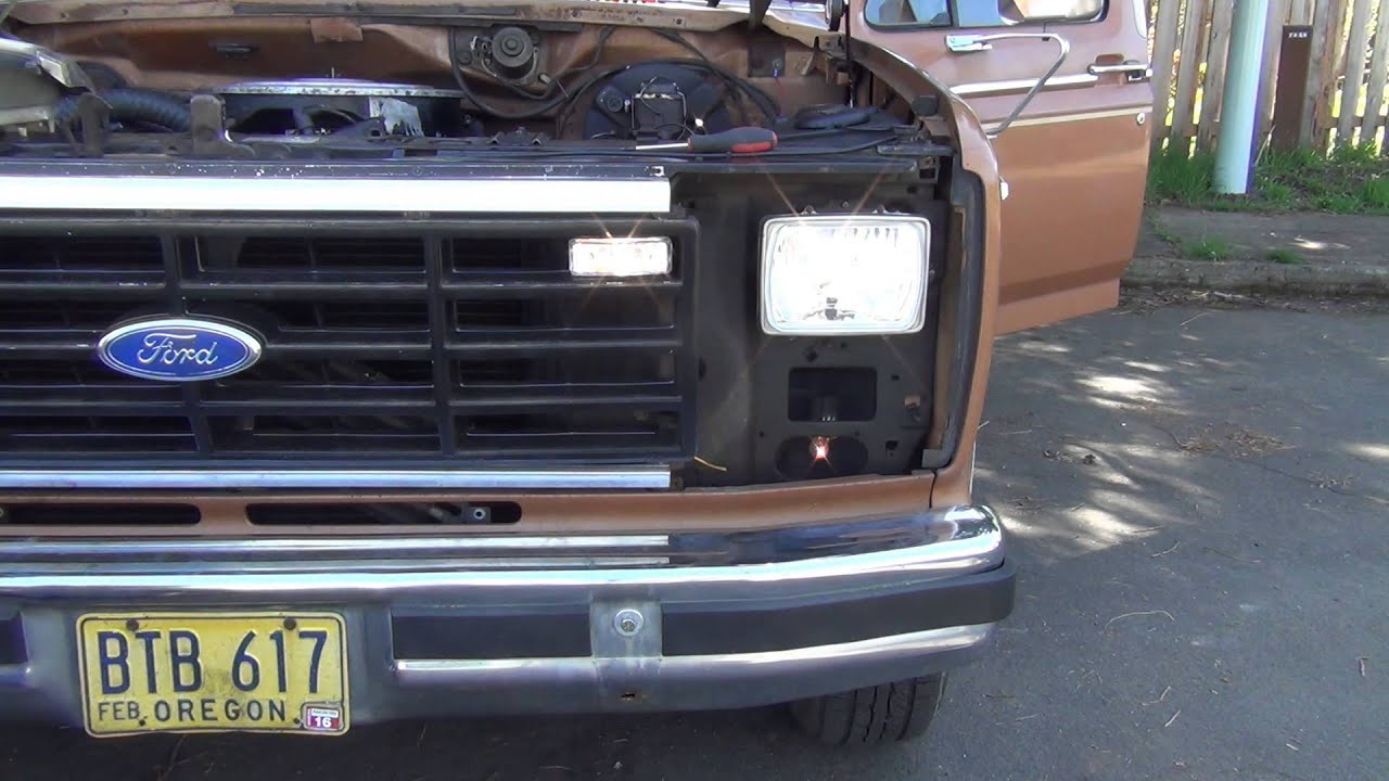 2014 F150 Headlights >> Ford F150 Headlight Upgrade Part 1 of 2 - YouTube