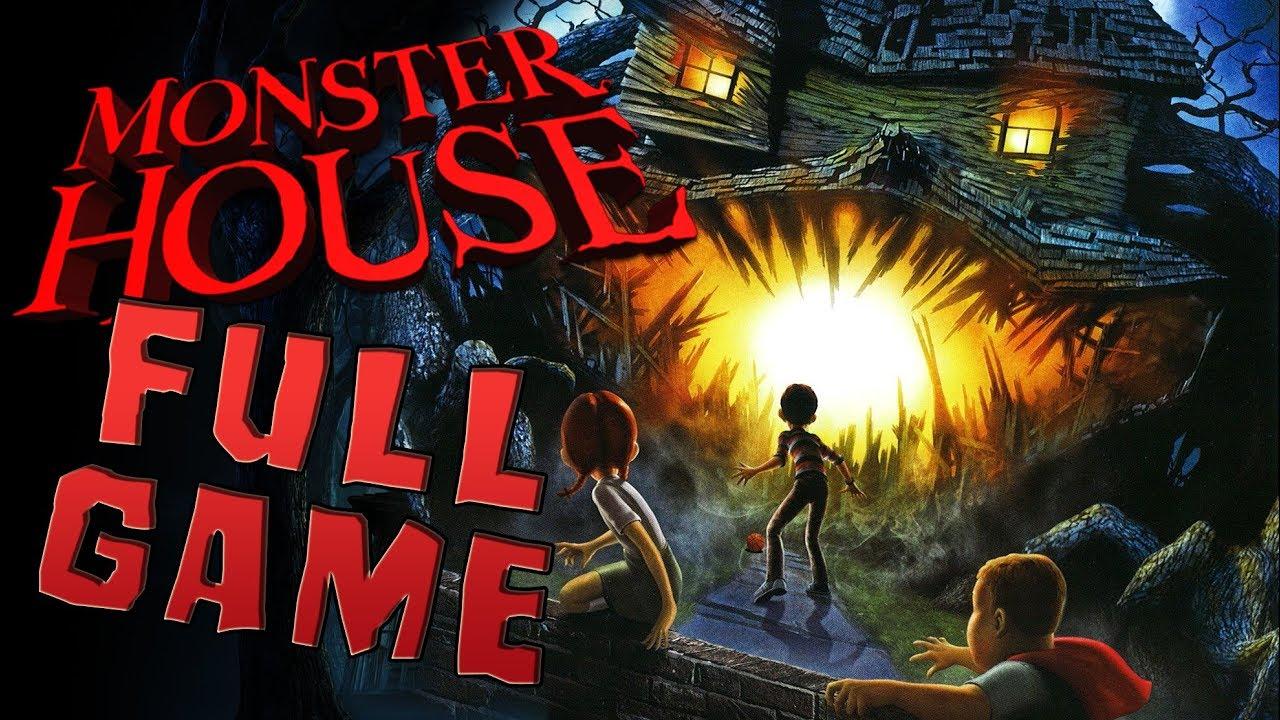Monster House FULL GAME Movie Longplay (PS2, Gamecube