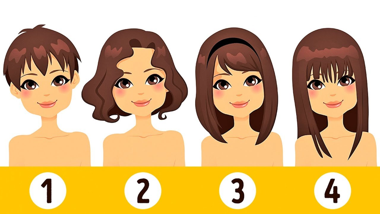 What Your Hair Length Says About Your True Personality Youtube