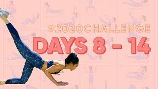 Day 8 - 14 | Blogilates 2020 Challenge
