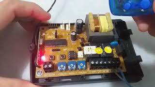 Como Codificar Controle de Portão Eletrônico no Garen G3 Unisystem
