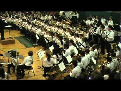 Kenilworth Junior High School Bands Rock the Big House!