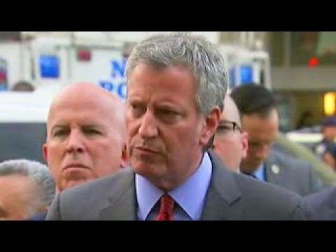 De Blasio: Bronx shooting was isolated incident, not terror