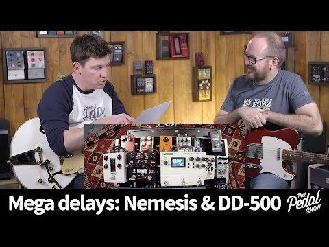 That Pedal Show – Mega Delays: Source Audio Nemesis & Boss DD-500