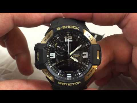 how to set time on g shock 5081