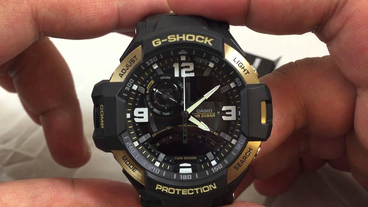 Casio GSHOCK G-Aviation GA1000-9G REVIEW