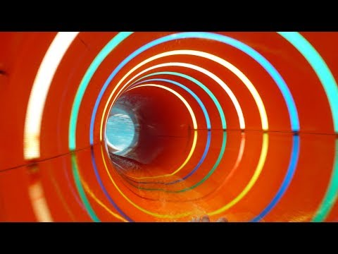 Spa and Wellness Center Sárvár - Colorful Indoor Waterslide Onride POV