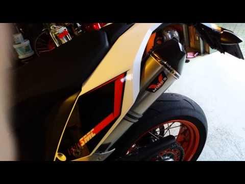 Ktm 690 smc r 2014 Wings exhaust