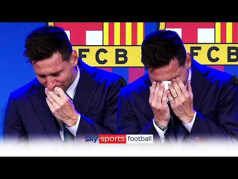 Tearful Messi bids farewell to Barcelona, says PSG deal not done