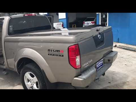2008 Nissan Frontier Used Car West Palm Beach, FL Woodbridge Motors