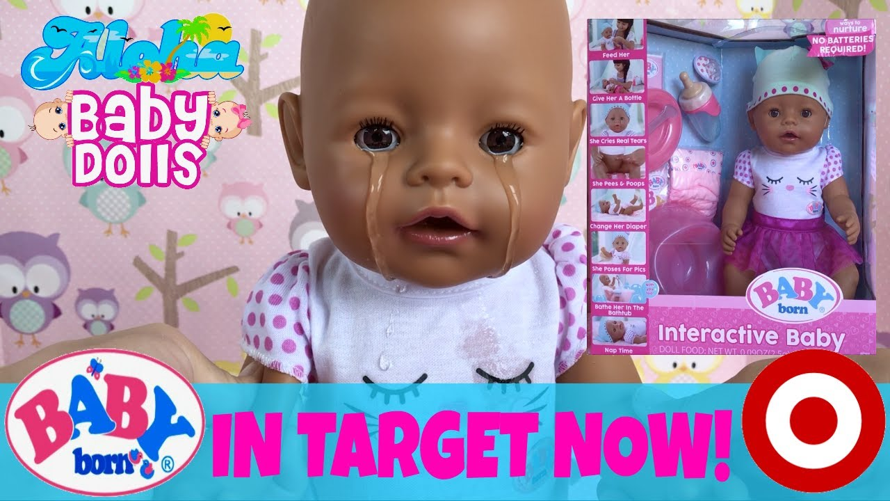 3f8df44bde6 🤗 New Baby Born Doll In 🎯Target NOW!!! Unboxing