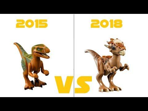 LEGO JURASSIC WORLD - 75920 Raptor Escape VS 75927 Stygimoloch Breakout - COMPARISON