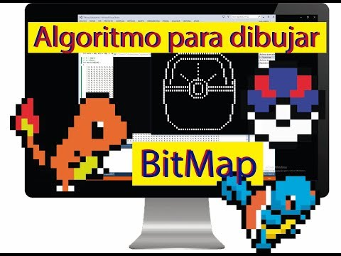 Algoritmo Para Dibujar Un Bitmap Ll Visual Studio Ll OPenGL
