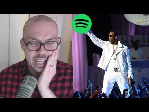 R. Kelly Streams Increase Despite Spotify's New Policy