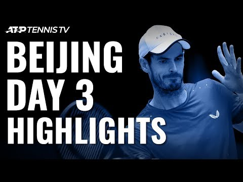 Murray And Thiem Set Quarter-Final Clash; Khachanov And Fognini Win | Beijing 2019 Highlights Day 3