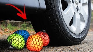 Crushing Stress Toys By Car - Oddly Satisfying Videos