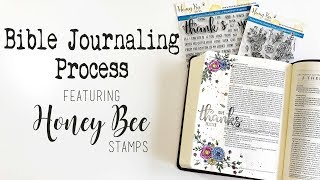 Give Thanks I Honey Bee Stamps