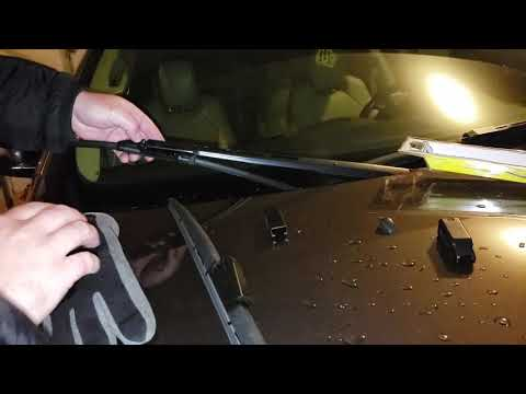 How to replace 2012 Buick Enclave front wiper blades