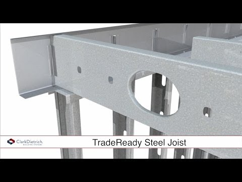 ClarkDietrich TradeReady® Steel Joist System