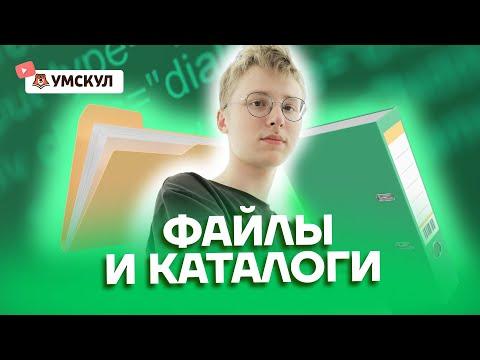 Файлы и каталоги   Информатика ОГЭ 2022   Умскул