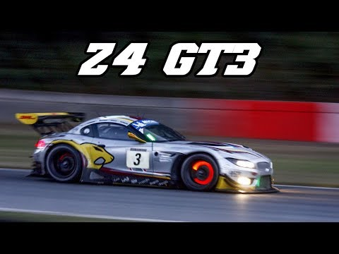 BMW E89 Z4 GT3 at 24h of Zolder 2012 - great sound (Marc VDS)