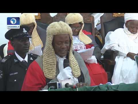 Highlights Of Legal Year In Katsina And The Federal Capital Territory |Law Weekly|
