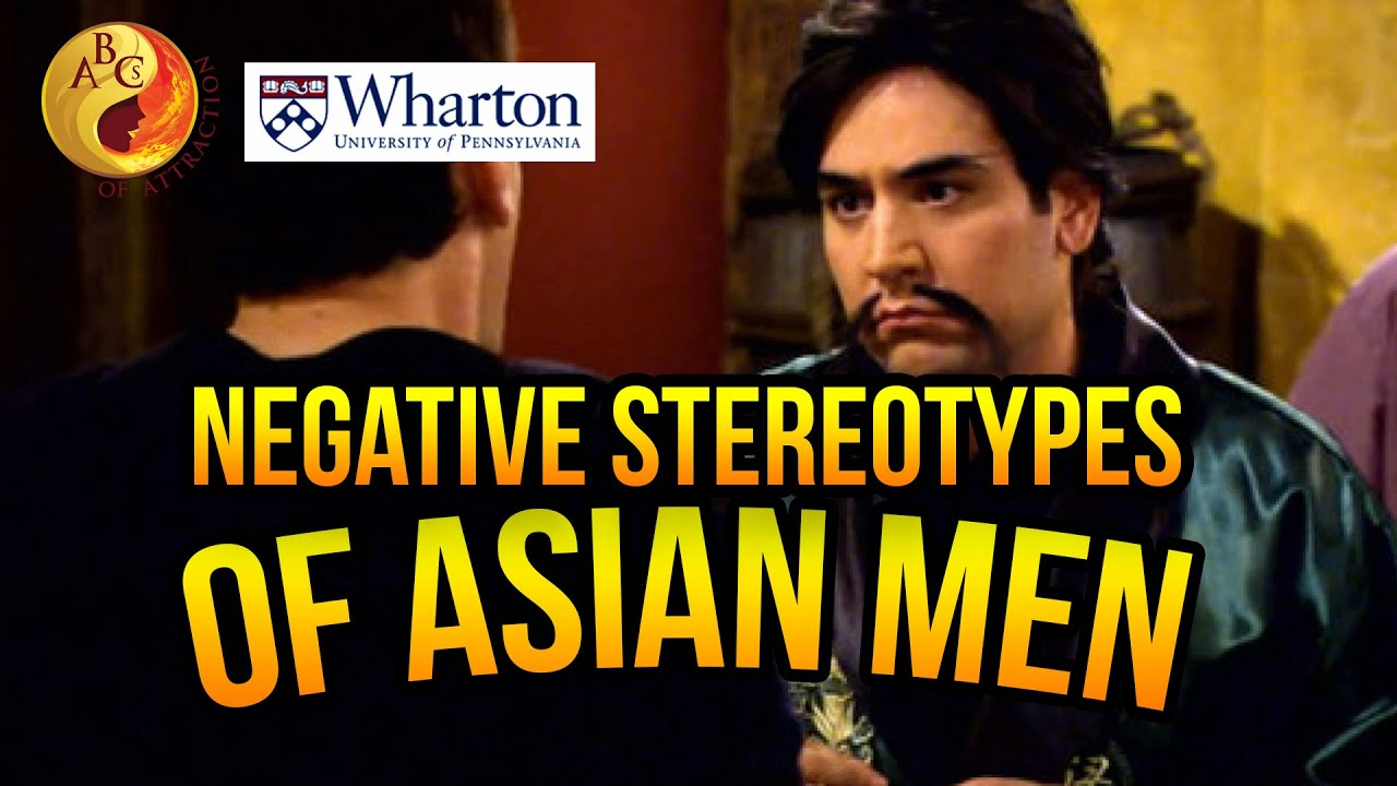 Asian man stereotype