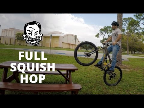 How to Bunnyhop a Full Suspension MTB