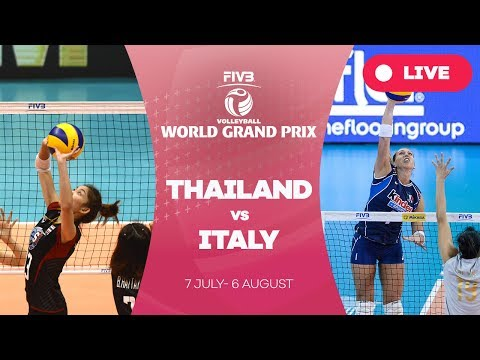 Thailand v Italy - Group 1: 2017 FIVB Volleyball World Grand