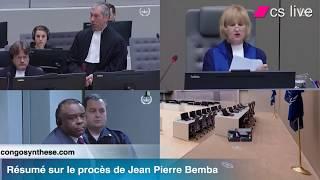 Résumé sur le procès de Jean Pierre Bemba