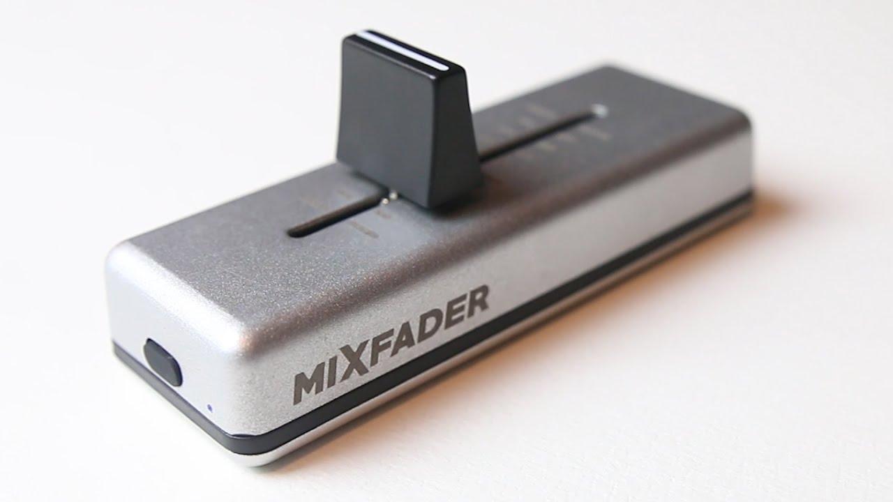 Download MixFader Wireless Crossfader Reivew