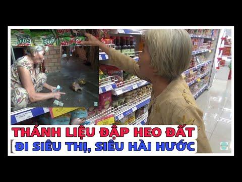 Thánh Liệu | Bà Tư Liệu Đập Heo Đất Đi Siêu Thị Siêu Hài Hước (Break the piggy to the supermarket)