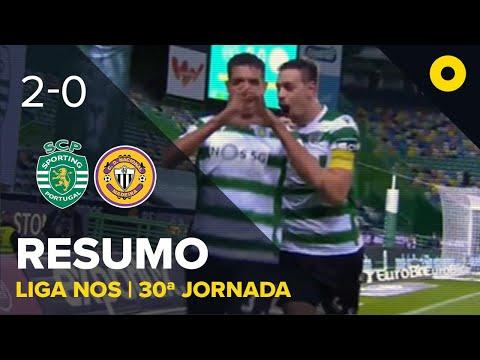 Resumo: Sporting 2-0 CD Nacional - Liga NOS | SPORT TV
