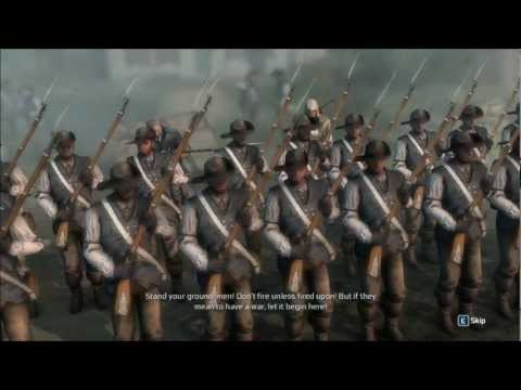 Assassin's Creed III - Sequence 7 -  Lexington and Concord