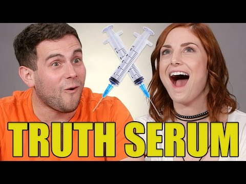 Roommates Take Truth Serum For The First Time