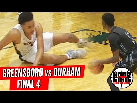 Carson McCorkle vs MJ Rice in FINAL 4 Match-Up: Greensboro Day vs Durham Academy #HoopState
