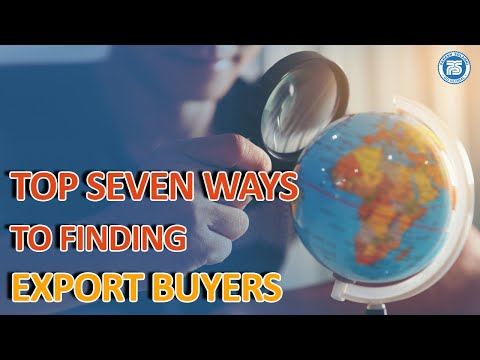 How to Get Export Order   How to Find International Buyers   Export Import Business