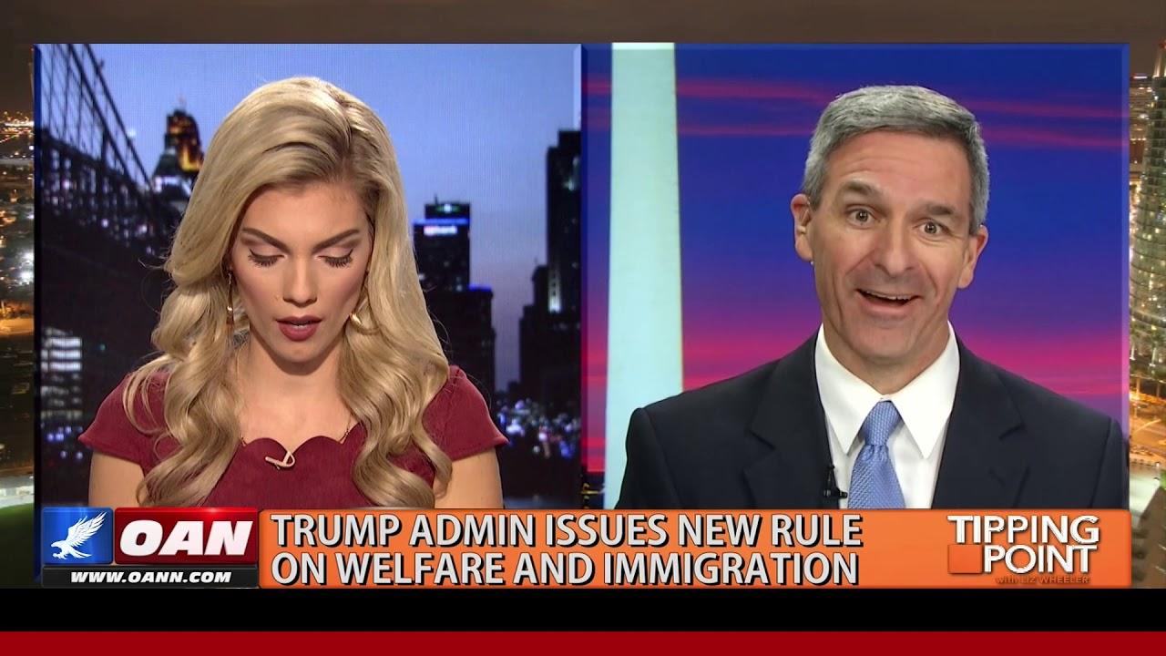 OAN USCIS Director On Trump Admin's New Rule On Welfare & Immigration