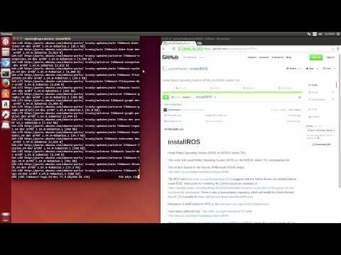 Robot Operating System (ROS) on NVIDIA Jetson TK1 - JetsonHacks