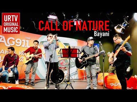 BAYANI - CALL OF NATURE | URTV ORIGINAL MUSIC | S04E002