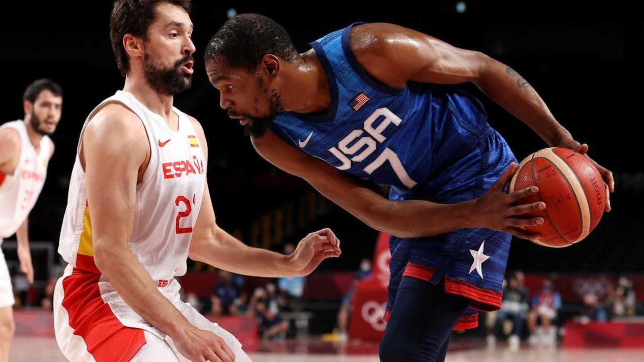 Download USA Eliminates Spain! Ricky Rubio 38 Points! 2021 Tokyo Olympics Quarterfinals
