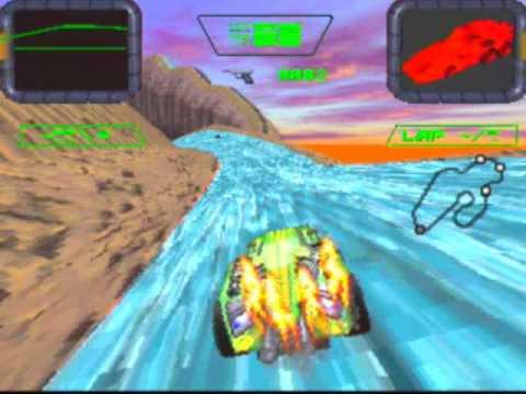Crash 'N Burn Game Sample - 3DO