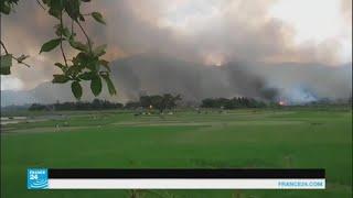مظاهرات في أندونيسيا والفلبين ضد ما يحدث للروهينغا المسلمين في بورما