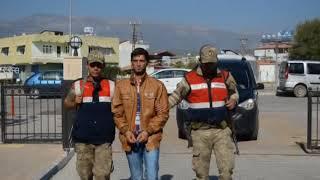 PKK'lı Sınırda Yakalandı